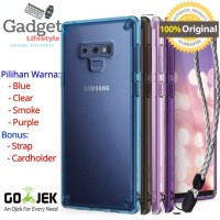 Case Samsung Galaxy Note 9 - Original Ringke Fusion Clear / Smoke