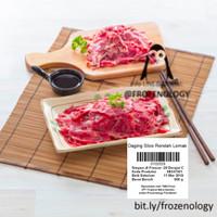 Harga daging sapi slice teriyaki sukiyaki shabu | antitipu.com