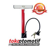 Pompa Sepeda Mini 30 cm / Pompa Tangan Portabel Serbaguna