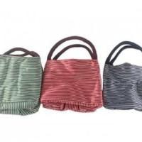 Harga promo cooler bag stripe garis buat makanan dan minuman | WIKIPRICE INDONESIA