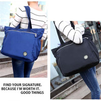Multifunction Women Nylon Handbag Tote Bag