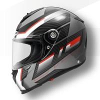 Helm Zeus ZS1900 O1 Black Silver - Fiberglass - Flat Visor