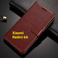 Flip Cover Xiaomi Redmi 6A Redmi6A Wallet Leather Case Casing HP