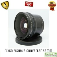 Pixco Fish Eye Converter 58mm