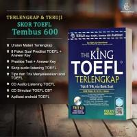 Buku The King TOEFL Terlengkap Free CD