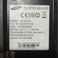 Mesin hp Samsung GT-N7100 SEKEN