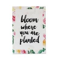 Harriet & Co - Bloom Watercolour A4 Wall Art