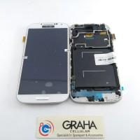 LCD SAMSUNG S4 / I9500 FULLSET TOUCHSCREEN KONTRAS + FRAME ORIGINAL