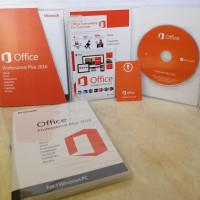 Microsoft Office 2016 Professional Plus (Lisensi Original + Box)
