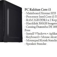 PC Rakitan Intel Core I3 Baru Murah Paling Laku
