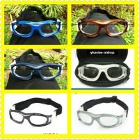 kacamata olahraga futsal, basket minus panlees original