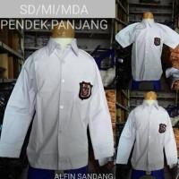 Distributor Seragam Sekolah Baju Putih Panjang Sd Kelas 1 2 3 4 5 6