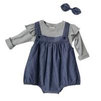 Mosfit Amber Romper & Pants Baju Setelan Anak Perempuan
