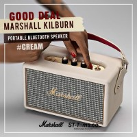 Marshall Kilburn Bluetooth Speaker - Cream