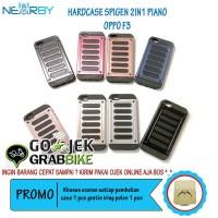 Paling Murah Case Oppo F3 Spigen 2in1 Hardcase Motif Piano Keren