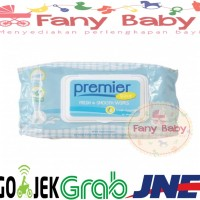 Premier Baby Wipes Fresh & Smooth Tissue Basah isi 3 pack (NONPARFUM)