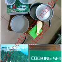 DS 200 - Alat masak camping - cooking set