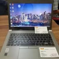 Murah Laptop Ringan TIPIS Toshiba Core I7 GEN 4 HASWEL Ram 8gb SSD 256
