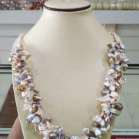kalung mutiara tawar asli lombok , perhiasan mutiara lombok Asli