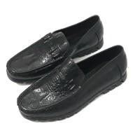 Sepatu Pantofel Karet Pria Motif Croco - Lakoka