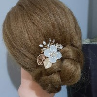 Bride Wedding Hair Accessories AR010 Headpiece Aksesoris Hias thumbnail