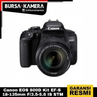 Canon EOS 800D Kit EF-S 18-135mm F/3.5-5.6 IS STM