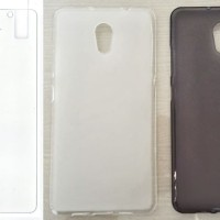 Paket Lenovo P2 Turbo - Tempered Glass + Casing Softcase