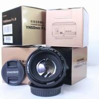 lensa fix yongnuo YN50mm f1.8 for canon camera kamera termurah
