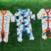 Jumpsuit Bayi LIBBY motif laki/Premium Healthy Sleepsuits/Pakaian bayi
