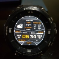 CASIO PROTREK WSD-F20 ANDROID WEAR GPS SMARTWATCH