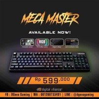 Digital Alliance DA Meca Master RGB - Mechanical Gaming Keyboard