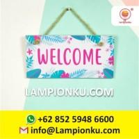 BEST SELLER Welcome Hiasan Dinding Rumah Cantik Jakarta