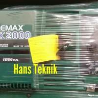 Genset ELEMAX SHX 2000 KVA Generator Listrik Bensin SHX2000 Japan