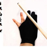 Sarung Tangan Biliar / 3 Finger Billiard Gloves / 3 Fingers Gloves