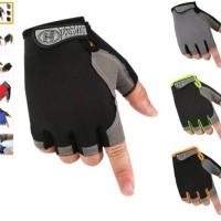 HUWAI Gloves Sepeda / Gloves Fitnes Gym / Sarung Tangan Sepeda