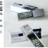 Jam dan Temperatur Digital / Car Temperature Meter with Suction Cup
