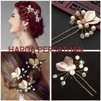 Hair pin hiasan rambut tusuk sanggul pesta PC028G thumbnail