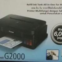 printer canon G2000 infus pabrik tinta original