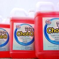 ChobO Handsoap, Cuci Tangan Super, Sabun Cair Kental 5 Liter - Hijau
