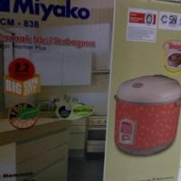TERLARIS! MIYAKO MCM-838 MAGIC COM RICE COOKER 2.2L MURAH
