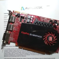 AMD ATI Firepro V4800 - VGA Card Workstation untuk CAD - desain Grafis
