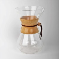 [FREE FILTER] Chemex Wooden Handle 6 cup Brandless - Drip Coffee