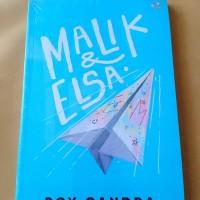 NOVEL MALIK DAN ELSA oleh Boy Candra (ORI)