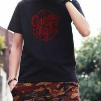 Kaos GREENLIGHT Ori Pria Wanita Tshirt Distro Baju Cowok Original GR22