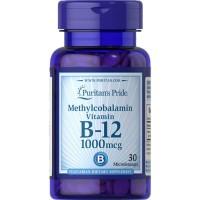 Puritan Puritans Puritan's Vitamin Vit B12 B-12 B 1000 mcg 1000mcg