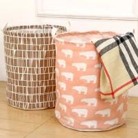 Multifunction Canvas Waterproof Laundry Basket
