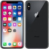 Handphone iphone X 256GB Black Garansi resmi