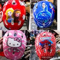 helm sepeda roda atau sepeda anak