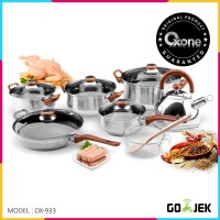 OX-933 Panci Eco Cookware Set Oxone
