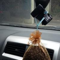 Parfum pewangi pengharum mobil ruangan alami natural biji kopi asli
